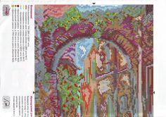 """21   Вышивка """"Цветочная арка"""""""