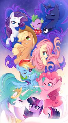 Beginning by JumbleHorse on DeviantArt Arte My Little Pony, Dessin My Little Pony, My Little Pony Poster, My Little Pony Comic, My Little Pony Characters, My Little Pony Drawing, My Little Pony Pictures, My Little Pony Wallpaper, Little Poni