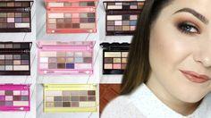Makeup Revolution chocolate. Którą wybrać? swatches + makijaż | ekobieca...