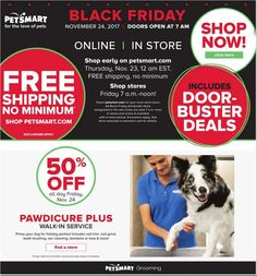 PetSmart Black Friday 2017 Ad Scan, Deals and Sales The PetSmart 2017 Black Friday ad is here! They will be closed on Thanksgiving and open at on Black Friday. You can also shop online starti. Xl Dog Beds, Black Friday 2017 Ads, Purina Friskies, Tank Stand, Dog Pads, Deal Sale, Pet Products, Your Pet, Coupons