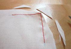 Stitching and Cutting Corners Correctly