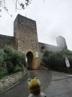 la puerta de monteriggioni