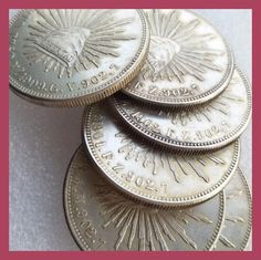 MO Uncirculated Full set(1899 1901 1902 1904 1908 1909) 6pcs Mexico 1 Peso Silver Foreign Coin Copy Coin Foreign Coins, Full Set, Personalized Items, Silver, Weights, Money