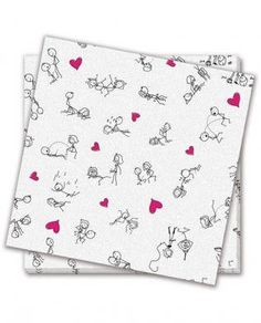 Dirty dishes position napkins - bag of 8 - Party Fun Wedding Gag