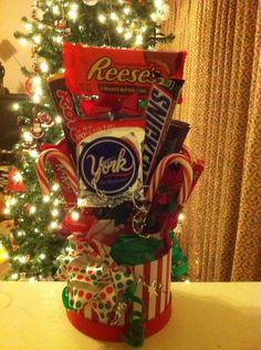 christmas bouquets candy bouquets pinterest candy bouquet gift and christmas gifts - Christmas Candy Bouquet