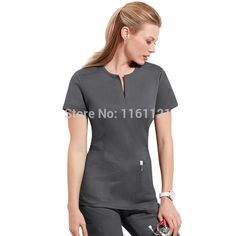 2016 Summer women hospital medical scrub clothes set dental clinic and beauty salon nurse uniform fashionable design slim fit Spa Uniform, Scrubs Uniform, Salon Uniform, Scrub Suit Design, Dental Uniforms, Scrubs Outfit, Koi Scrubs, Medical Scrubs, Nursing Scrubs