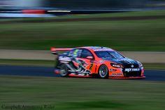 Garth Tander at Sydney Motorsport Park - V8 Supercars - Holden - HRT - Commodore - V8