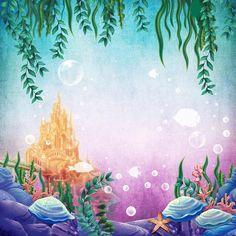 Fairy Tale Under Sea Water Mermaid Birthday Photography Backdrop Background Mermaid Wallpaper Backgrounds, Mermaid Wallpapers, Ocean Backgrounds, Sea Photography, Birthday Photography, Photography Backdrops, Product Photography, Photography Studios, Photography Marketing