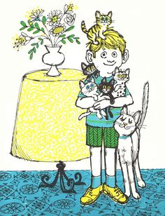 Vintage Kids' Books My Kid Loves: One Kitten For Kim by Adelaide Holl; illustrated by Don Madden