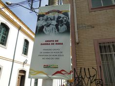 Uma das poucas referências em Pirapora ao samba paulista