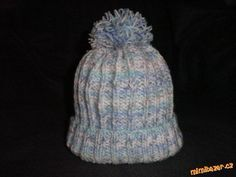 Pletená čepice s návodem Diy And Crafts, Beanie, Wool, Knitting, Children, Crochet, Baby, Fashion, Tatoo