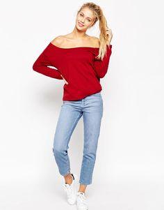 ASOS The Off Shoulder Sweatshirt