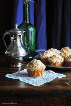 Pane, burro e alici: Crumble muffins alle mele