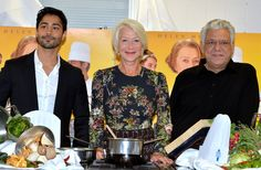 Manish Dayal Helen Mirren Photos: 'The Hundred Foot Journey' Photo Call in London