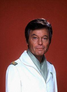 Dr. McCoy (DeForest Kelley) #startrek #mccoy #bones