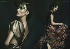 Editorial High fashion hair & makeup  By amazing makeup artist Leila  http://www.Facebook.com/sincitybeauty
