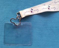 Disney KTTW Card Holder/Lanyard  - Classic Mickey - Non-scratchy - Child or Adult - pinned by pin4etsy.com