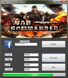 War Commander Hack http://gamesfixer.com/war-commander-hack/
