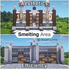 Casa Medieval Minecraft, Minecraft Farm, Minecraft Mansion, Minecraft Cottage, Cute Minecraft Houses, Minecraft Plans, Minecraft Survival, Minecraft Construction, Amazing Minecraft