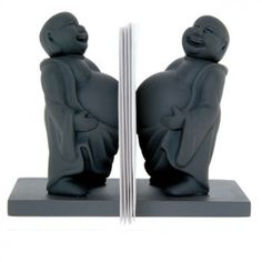 These will make you work smiling is my guess - Buddha Desk Organizer — ACCESSORIES -- Better Living Through Design