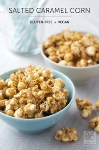salted caramel corn vegan gf more salted caramel popcorn vegan caramel ...