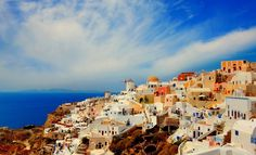 On the island of Santorini Greece  Travel photo by YuriHope http://rarme.com/?F9gZi