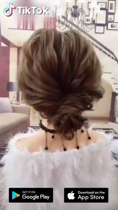 New year, new #hairstyle ! Download #TikTok today to find more amazing videos. Also you can post videos to show your unique hair styles! Life's moving fast, so make every second count. #hair #beauty #prom