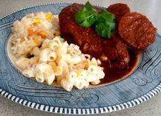 Pollo guajillo al horno