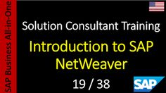 SAP - Course Free Online: 19-38 - Introduction to SAP NetWeaver