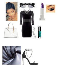 Laserbeam Me (Night VI) by psymonthelycan on Polyvore featuring Yves Saint…