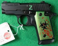 Sig Sauer P238 380 Zombie Limited Edition for my purse