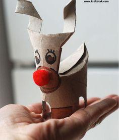 9 formas criativas de reutilizar rolos de papel - Dicas de Mulher