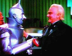*TINMAN GETS HIS HEART ~ The Wizard of OZ, 1939