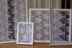 DIY Lace Frame