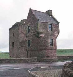Burleigh Castle is a small 16th century tower house that stands near Loch Leven