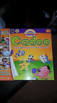 Cranium Cadoo Family Child Kid Board Game Missing Clay Only