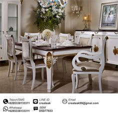 picture of sofia vergara paris champagne 5 pc dining room from