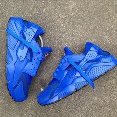 nike huarache royal blue 8e65536e6709