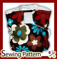 EASY Cloth Diaper Pattern all in one  INSTANT Pdf by mammacandoit, $5.00