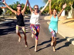 www.kastfitnesswear.com  Yay! It's back to school!  Neon Cheetah, Eyes, and Peace pant prints.  #sisters #backtoschool #cabo