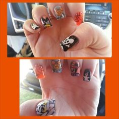 Halloween Disney nails (K. Rodriguez ~ Mouse 4 Life)