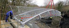 metal formed bridge