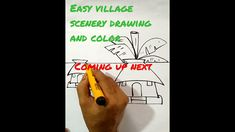 Drawing Videos For Kids, Beginner Art, Easy Drawings, Scenery, The Creator, Landscape, Paisajes, Nature