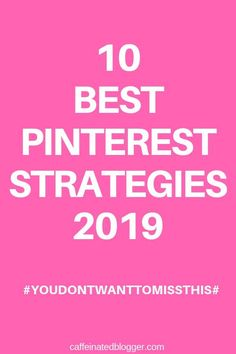 Pinterest Strategy: Learn from 10 successful bloggers on Pinterest - Their #1 Tip on Pinterest Strategy. Find out what is working for them and how they did it so you can do it too!