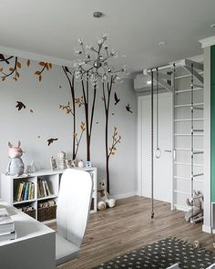 Boys Bedroom Furniture, Boys Bedroom Decor, Childrens Room Decor, Baby Boy Rooms, Little Girl Rooms, Ideas Habitaciones, Interior Design Guide, Cool Kids Rooms, Baby Room Design