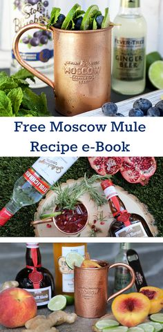 The authority site to find the very best, mouth-watering Moscow Mule recipes when looking outside the classic vodka, ginger beer, lime and copper mug. Moscow Mule Recipe, Moscow Mule Mugs, Fancy Drinks, Yummy Drinks, Tropical Drink Recipes, Holiday Cocktails, Cocktail Parties, Copper Mugs, Alcoholic Drinks