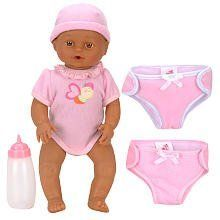 You & Me 16 inch Mommy Change My Diaper Baby Doll - African American by Toys R Us. $29.99. You'll love taking care of a this very special gal! The You & Me Mommy Change My Diaper Baby Doll, a Toys'R'Us exclusive, is decked out in a pink creeper and coordinating cap, and she comes complete with extra diapers and a bottle. She drinks when she's hungry, cries when she's wet and makes adorable noises when you press her hand! The You & Me 16 inch Mommy Change My Dia...