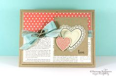 Love-Hearts a Flutter by Marcee - Cards and Paper Crafts at Splitcoaststampers