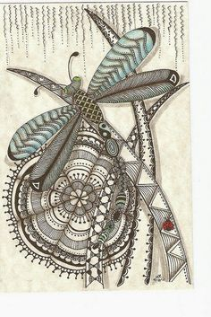 Zentangle -- drawing