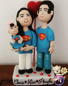 Supe Family, personalizada  #porcelanafría #craft #craft #panamá #507